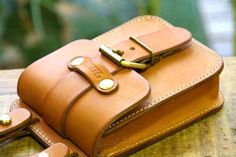 Rakuten: Vegetable tanning leather belt pouch made by japanese craftman[nouki]【fs01gm】- Shopping Japanese products from Japan
