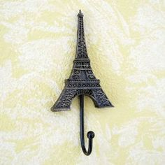 Amazon.com: Eiffel Tower Wall Hook Vintage Style: Home & Kitchen