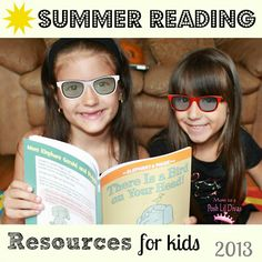 "How do you keep kids motivated to read throughout the summer? I've compiled a list of the best Summer Reading Reading Incentive Programs for kids. Let's keep them reading this summer - help prevent the dreaded ""summer slide"""