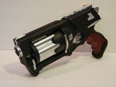 Maverick (Nerf) Mod: custom blaster build log « DMStudios' Digital Playground