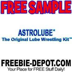 ►► FREE SAMPLE - Astrolube Wrestling Oil ►► #Free, #FREESample, #FREEStuff, #Freebie, #OilWrestling, #Sample, #Wrestling ►►