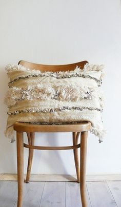 Vintage Handira Moroccan Pillow