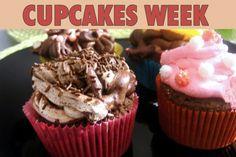 """La recette: Cupcakes au chocolat, via le site """"Les Recettes de ma Mère"""" (bonbons,cacao,chocolat,cupcake,déco,décoration).  http://lesrecettesdemamere.net/recette/cupcakes-chocolat/"""