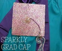 Sparkly Graduation Cap