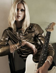 Iselin Steiro by Josh Olins for Vogue UK August 2013