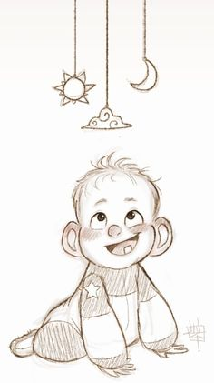 Best Ideas for baby drawing animation character design Character Drawing, Character Illustration, Art And Illustration, Animation Character, Character Sketches, Kid Character, Baby Cartoon Drawing, Cute Baby Cartoon, Cartoon Kunst