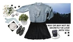 You send my life into somewhere I can't describe by purpleghost on Polyvore featuring polyvore, fashion, style, Étoile Isabel Marant, Theory, Dr. Martens, Minor Obsessions, Retrò, Nearly Natural, Coach and clothing