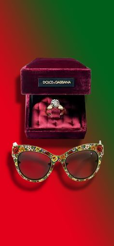 9dcb1e02097  Sunglasses. Dolce amp Gabbana Mosaico Collection. The frame is hand made  of Murano