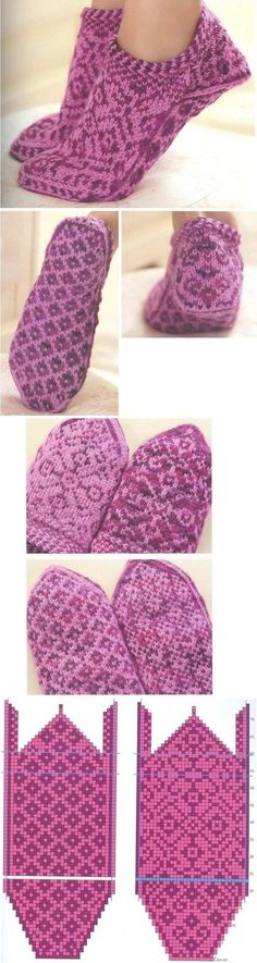 вязание носков с мыска Knitted Slippers, Knit Mittens, Knitting Socks, Knitting Stitches, Hand Knitting, Knitting Patterns, Crochet Patterns, Knitted Hats, Knit Or Crochet