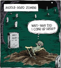 Funny Cartoons, Funny Comics, Funny Jokes, Hilarious, Vintage Halloween, Fall Halloween, Happy Halloween, Halloween Scene, Speed Bump Comic