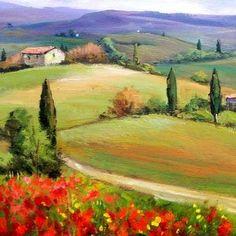 Tuscany Panorama by Bruno Chirici