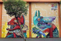 Cidade do México. 20 cidades incríveis pelo mundo para se ver Street Art.