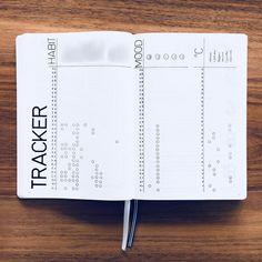 Bullet journal monthly habit tracker, minimalist monthly tracker, monthly mood tracker, monthly weather tracker. @helenes.journal