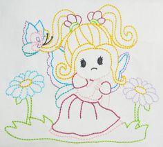 Color work Pixie girl machine embroidery by CocobeanBoutique, $3.50 Applique Designs, All Design, Machine Embroidery, Pixie, Artwork, Color, Colour, Work Of Art, Colors
