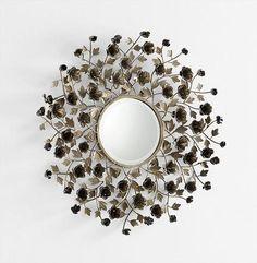 Enchanted Rose Mirror design by Cyan Design