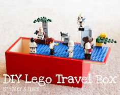 Lego storage box-tutorial from Finley and Oliver. This looks like something my kids would LOVE.