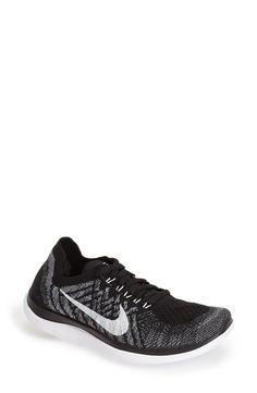 Nike 'Free 4.0 Flyknit' Running Shoe (Women)