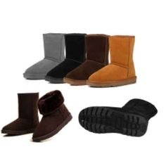 Winter Boots in 4 Colors + Free Shipping