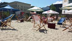 Charlie's Beach # Checkpoint Charlie# BERLIN