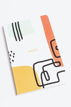 ROOLEE Abstract Lines Notebook