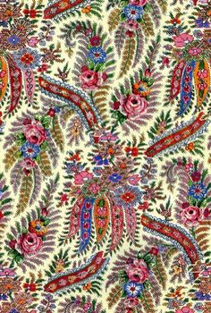 patterns on Indian shawls