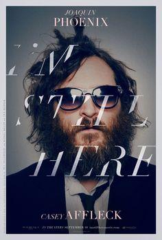 "MP780. ""I'm Still Here"" Movie Poster by Neil Kellerhouse from Kellerhouse Inc. (Casey Affleck 2010) / #Movieposter"