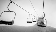 Can almost hear the hum of the chairlift