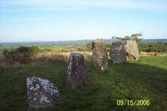 Finn McCool's five fingers on Shantamen Mountain, Co Cavan, Ireland