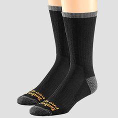 Men's Timberland PRO® Wool Blend Crew Sock 2-Pack