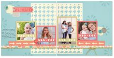 Workshops on the Go® Hopscotch Scrapbooking Kit—only available until April! #scrapbooking