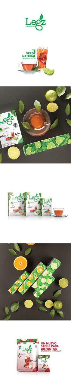 Legz es un té instantáneo producido y comercializado en Ecuador. Nuestro objetivo en este proyecto fue refrescar una imagen tradicional y hacerla más atractiva para llamar la atención de nuevos consumidores sin perder los actuales, a través del rediseño de su gráfica.