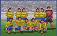 International superstar soccer  [ Presstart ] atari . snes . megadrive . playstation . xbox . ps3 . supernintendo . videogame . soccer . retro . classic . games . personalize . virtual