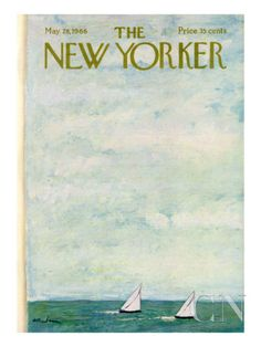 The New Yorker Cover - May 28, 1966 Poster Print by Abe Birnbaum at the Condé Nast Collection