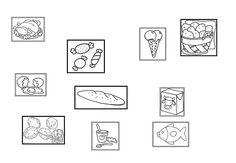 Imagen de comida para imprimir-Imagenes y dibujos para