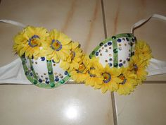 Daisy Rave Bra...perfect for EDC