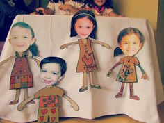 Learn how to make family string puppets from an empty cereal box w/ @PBS Parents.