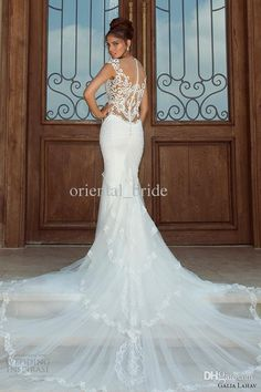 e602ae8fe0f galia lahav 2014 fiona wedding dress dramatic train illusion back