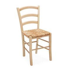 Yvonne tabouret bas bois naturel h45cm avec assise paille for Chaise yvonne alinea