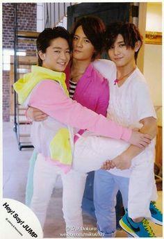 知念 岡本 山田 Otp, Yuto Nakajima, Ryosuke Yamada, Japanese Boy, Boy Groups, Guys, Sayings, Couple Photos, Guilty Pleasure