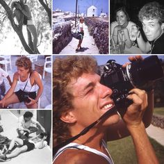 Me doing my first gig as a photographer.... August 1986 #BestOfGreece #travelphotography