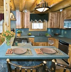 Slate countertops are stylish but slab quality & durability vary a lot. Learn the pros & cons, cost, colors, cleaning, how & where to buy the best slate slab. Slate Countertop, Refinish Countertops, Soapstone Countertops, Countertop Materials, Kitchen Countertops, Slate Kitchen, Kitchen Decor, Rustic Kitchen, Kitchen Ideas