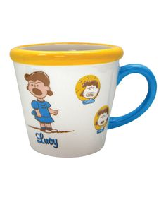Another great find on #zulily! Lucy Timeline Mug by Peanuts #zulilyfinds