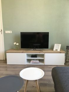 ikea hack 3x besta 120m tv meubel met plank van. Black Bedroom Furniture Sets. Home Design Ideas
