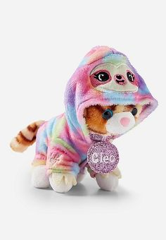 Justice is your one-stop-shop for on-trend styles in tween girls clothing & accessories. Shop our Pet Shop Sloth Outfit. Toddler Girl Gifts, Baby Girl Toys, Sloth Teddy, American Girl Doll Pets, Ty Peluche, Girls Nail Designs, Kids Mma, Sleepover Birthday Parties, Kids Clothes Sale