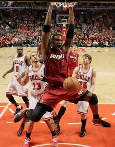 "Chris Bosh-one 3rd of the ""Big 3"" in Miami. Hes a beast...Period"