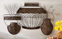Southwest Pottery Wall Decor