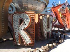 The Neon Boneyard, Las Vegas, Sahara Casino