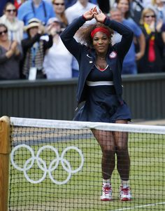 Serena Williams C-Walk Dance After Winning Olympic Gold Medal [Video & Photos]