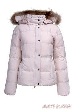 Femmes Norwegian Fur Veste Blanc Woolrich