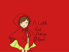A Little Red Riding Hood. #Illustration #Graphic